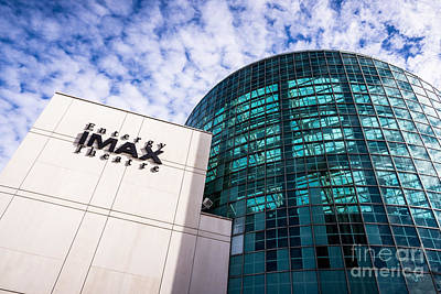 Entergy Imax Theatre In New Orleans Art Print by Paul Velgos