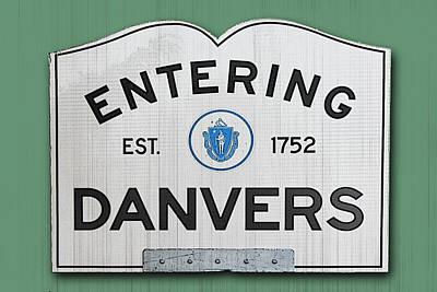 Entering Danvers Art Print by K Hines