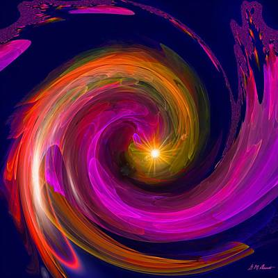 Entering Inner Space Art Print by Michael Durst