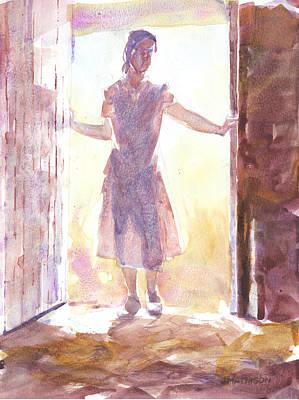Entering Art Print by Jeff Mathison
