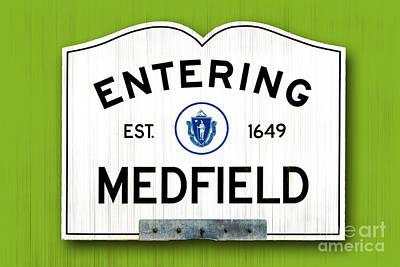 Entering Medfield Art Print by K Hines