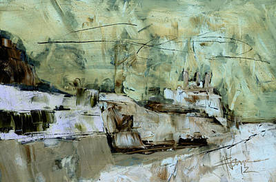 Mixed Media - Entering The Canal by Jim Vance