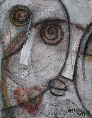 Painting - Entitled No. 4 by Laurie Maves ART
