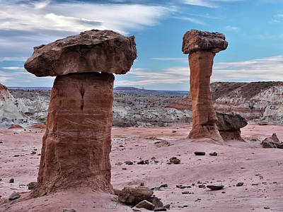 Escalante Photograph - Entrada Sandstone Formations by Leland D Howard