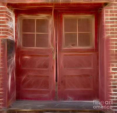 Photograph - Entrance - Door by Liane Wright