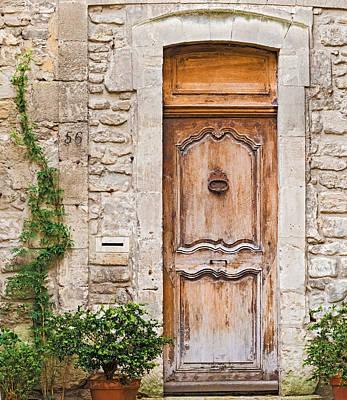 Photograph - Entrance Doors In Avignon France by Marek Poplawski