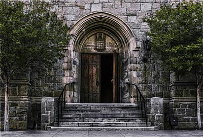 Photograph - Entrance by Jerome Obille