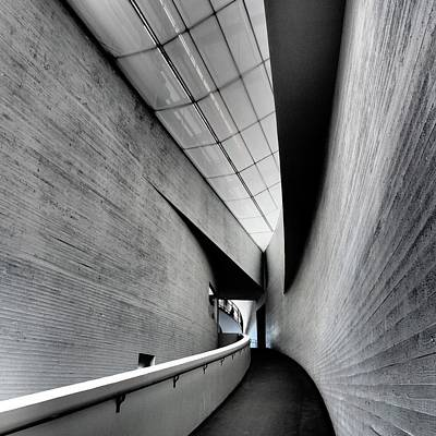 Photograph - Entrance Of Kiasma Museum by Marco Ferrarin