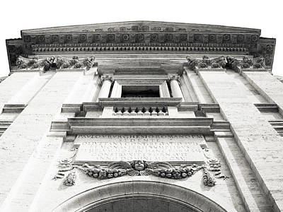 Photograph - Entrance Of Santa Francesca Romana Basilica In Rome by Vlad Baciu