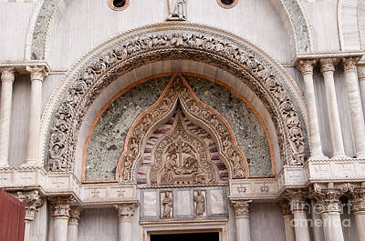 Photograph - Entrance Of St Marks Cathedral by Brenda Kean