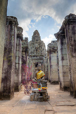 Architecture Photograph - Entrance To Bayon Temple by Alexey Stiop