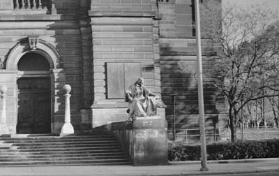 Carnegie Museum Photograph - Entrance To Carnegie by Joann Renner