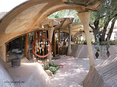 Photograph - Entrance To Cosanti by Diane Wood