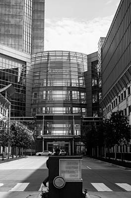 Photograph - Entrance To Devon Tower by Nathan Hillis