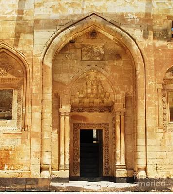 Entrance To Ishak Pasha Palace Art Print by Cimorene Photography
