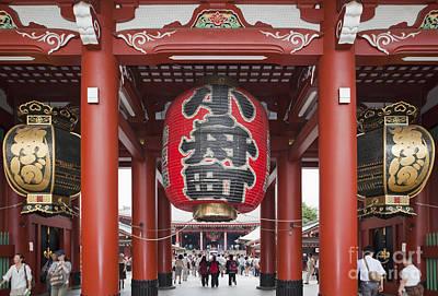 Entrance To Senso-ji Temple Art Print