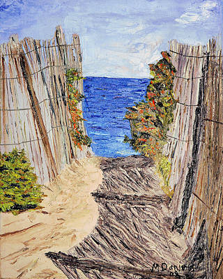 Art Print featuring the painting Entrance To Summer by Michael Daniels