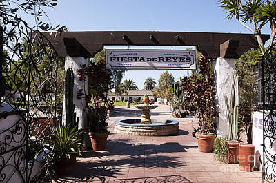 Photograph - Entrance To The Festival Area Of Old Sa Diego by Brenda Kean