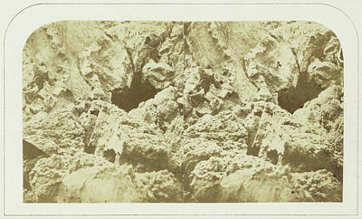 Cavern Drawing - Entrance To The Ice Cavern, In The Malpays Of The Peak by Artokoloro