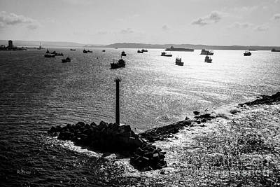 Photograph - Entrance To The Panama Canal And Breakwater by Rene Triay Photography