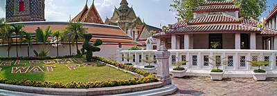 Entrance To Wat Pho Temple, Bangkok Art Print by Panoramic Images