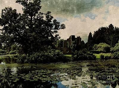 Entrancing Castle Ruins Print by Callan Percy