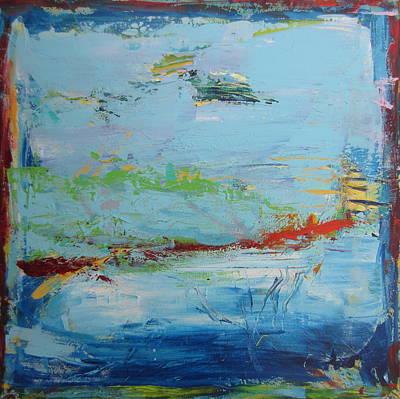 Painting - Entre Ciel Et Mer by Francine Ethier