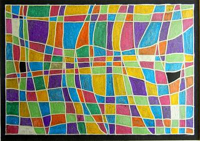 Painting - Colorfield by Kruti Shah