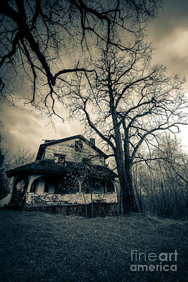 Abandoned Houses Digital Art - Entropy's Gift by CM Goodenbury