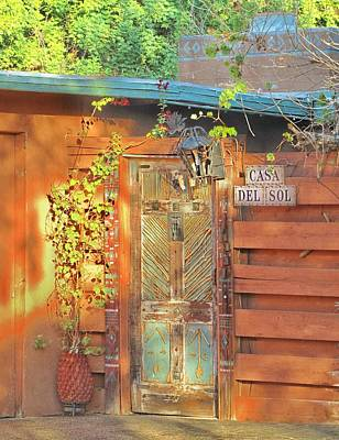 Photograph - Entryway In Rancho Mirage by Lisa Dunn