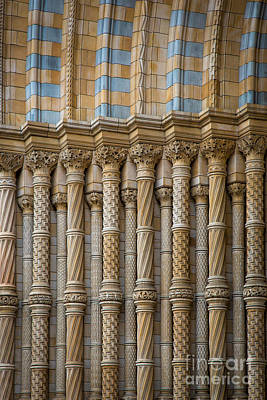 Natural History Museum London Photograph - Entryway Splendor by Inge Johnsson
