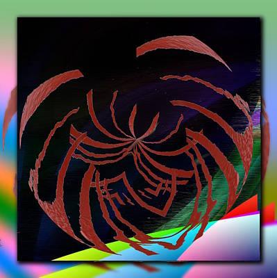 Digital Art - Enveloped 2 by Tim Allen
