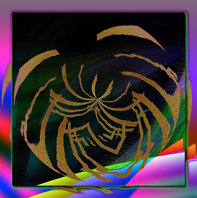Digital Art - Enveloped 5 by Tim Allen