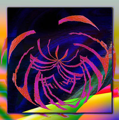 Digital Art - Enveloped 8 by Tim Allen