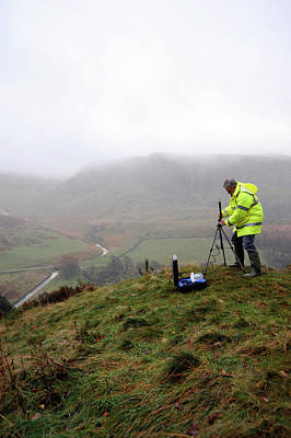 Monitoring Photograph - Environmental Radiation Monitoring by Public Health England