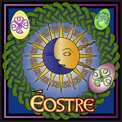 Digital Art - Eostre Festival by Ireland Calling