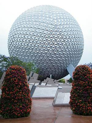 Photograph - Epcot Globe by Ronda Douglas