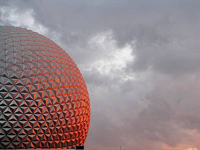 Epcot Art Print by Greg Simmons