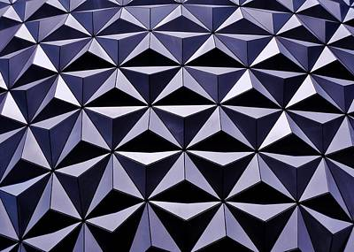 Photograph - Epcot In The Shade by Benjamin Yeager
