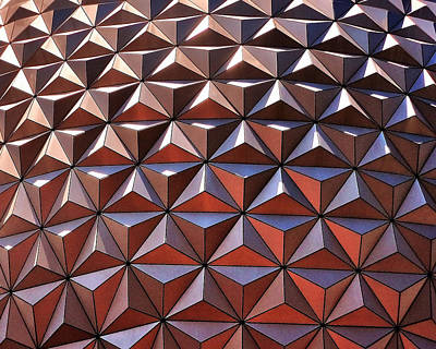 Photograph - Epcot In The Sun by Benjamin Yeager