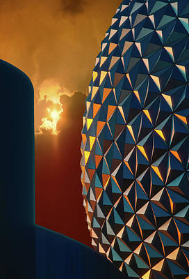 Photograph - Epcot by Kellice Swaggerty