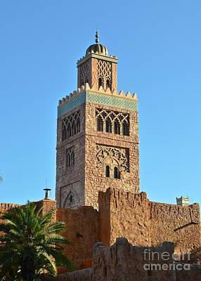 Photograph - Epcot Morocco Pavilion by Carol  Bradley
