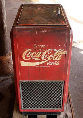 Photograph - Epcot Old Coke by David Nicholls