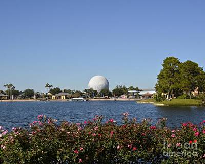 Photograph - Epcot World Showcase by Carol  Bradley