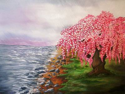 Painting - Ephemeral Nature by Valorie Cross