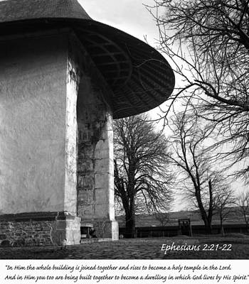 Photograph - Ephesians 2 21 by Emanuel Tanjala