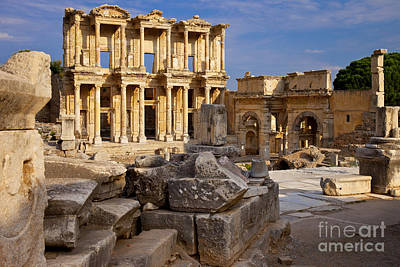 Photograph - Ephesus Turkey by Brian Jannsen