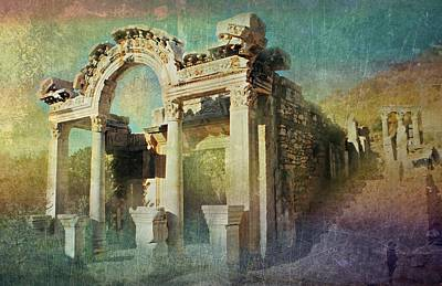 Ephesus Turkey Art Print by Diana Angstadt