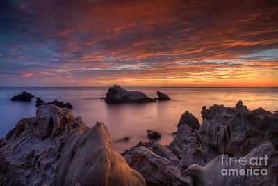 Nada Mas Llc Photograph - Epic California Sunset by Marco Crupi