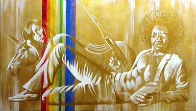 Ak-47 Painting - Epic by Joe Pagac